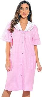 Dreamcrest Short Sleeve Duster Housecoat Women Sleepwear