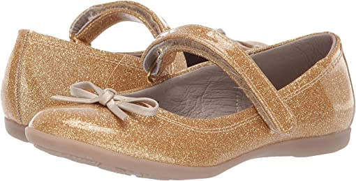 Gold Glitter Patent