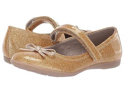 Kid Express Rosie (Toddler/Little Kid/Big Kid) (Gold Glitter Patent) Girls Shoes