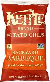 Kettle Brand Potato Chips, Backyard Barbeque Kettle Chips, 5 Oz
