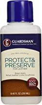 Guardsman Protect & Preserve For Leather 8.4 oz - Repels Stains, Retains Color and Softness, Great for Leather Furniture & Car Interiors - 471000