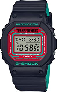 G-Shock - Casio G-shock × Transformers Master Nemesis Prime modo resonante [con G-shock] DW-5600TF19-SET