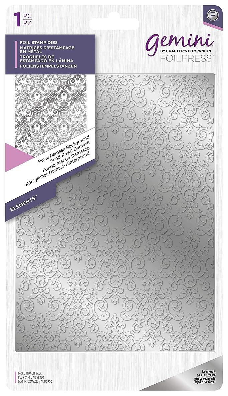 Gemini - Foil Stamp Dies - Royal Damask Background