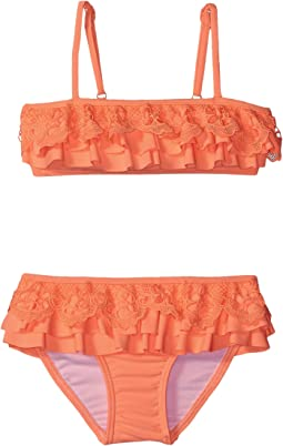 Luau Lu Lu Mini Tube Bikini (Toddler/Little Kids)