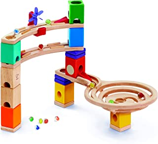 HAPE E6021 Quadrilla Race to the Finish Marble Run Learning And Development Toys, 58 Each