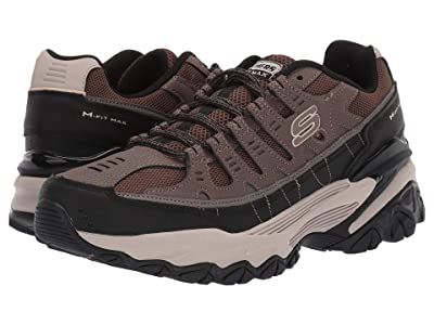 SKECHERS M. Fit Max (Taupe/Black) Men