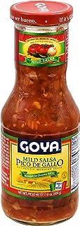 Goya Pico De Gallo Authentic Mexican Home-Style Chunky Salsa, 17.6 Ounce