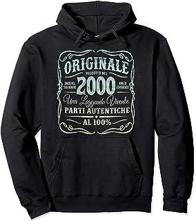 Originale Prodotto Nel 2000 Vintage 21 ° Compleanno Felpa con Cappuccio