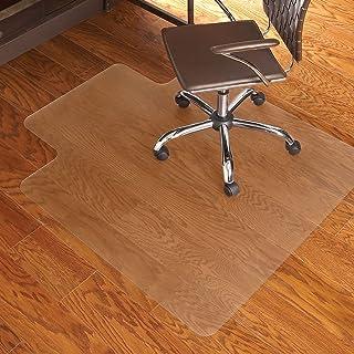 سجادة كرسي من الفينيل بتصميم سلسلة متعددة المهام مقاس 91.44 سم × 121.92 سم من إي إس روبنز إيفرلايف - لون شفاف