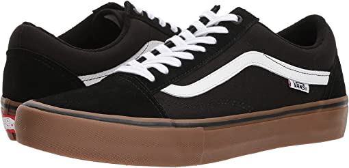 Black/White/Medium Gum