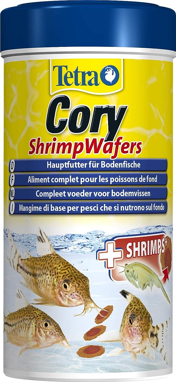 tetry Cory Shrimp wafers (Forro Principal para el suelo fressende peces como coryd oras y otros welse, con 10% Gamba), diferentes tamaños