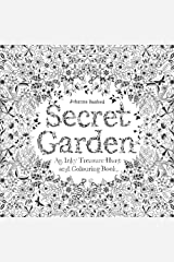 Secret Garden: An Inky Treasure Hunt and Colouring Book Paperback