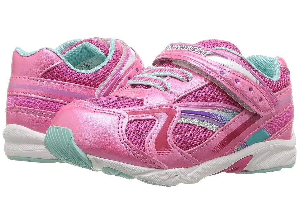 Tsukihoshi Kids B. Glitz (Toddler) (Hot Pink/Mint) Girls Shoes