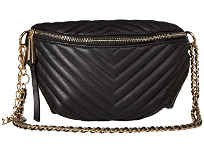 Jessica Simpson Bobbi Belt Bag (Black) Cross Body Handbags