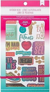 American Crafts 2124 Piece Fitness Sticker Books