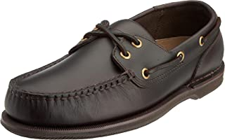 Rockport Perth Dark Brown Pull Up, Chaussures Bateau Homme, Marron, 44.5 EU