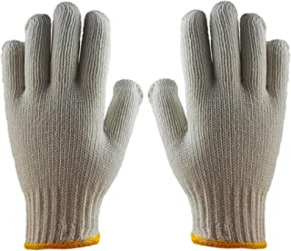 DELUXE COTTON STRING KNIT WORK GLOVES – LARGE - 20 PACK
