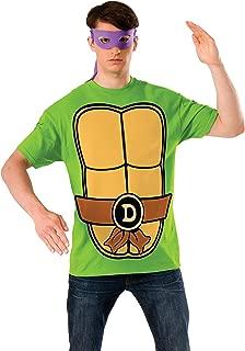 Nickelodeon Teenage Mutant Ninja Turtles Shirt With Mask and Donatello