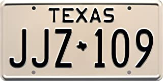 Celebrity Machines Death Proof | Texas JJZ 109 | Metal Stamped License Plate