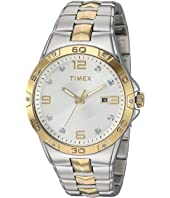 Timex Mens Two-Tone Crystal