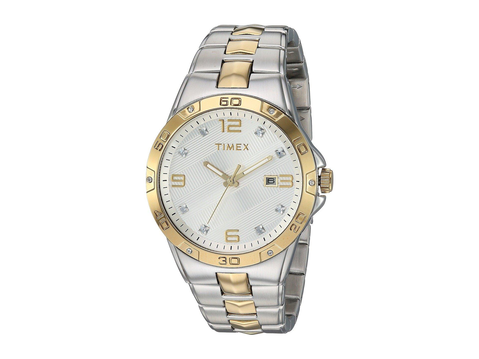 Reloj para Hombre Timex Mens Two-Tone Crystal  + Timex en VeoyCompro.net