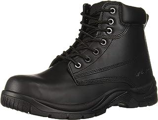 أحذية عمل من Adtec مقاس 15.24 سم جلد خفيف الوزن للرجال بياقة مبطنة