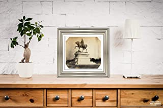New York Map Company c1858–61 Photograph ''Statue of Lord Hardinge, Governor General of India'', Antique Vintage Fine Art Photo Reproduction, Artist: Unknown|Size: 9x10|Ready to Frame