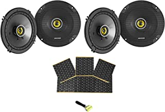 "$142 » KICKER (4) 46CSC654 CSC65 6.5"" 6-1/2"" 300W 4-Ohm Car Audio Coaxial Speakers"