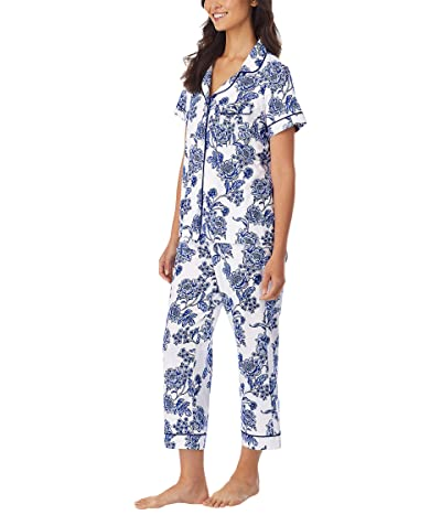 BedHead Pajamas Organically Grown Cotton Elastane Short Sleeve Cropped PJ Set