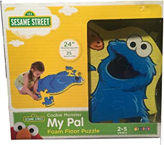 Sesame Street Cookie Monster My Pal Foam Floor Puzzle
