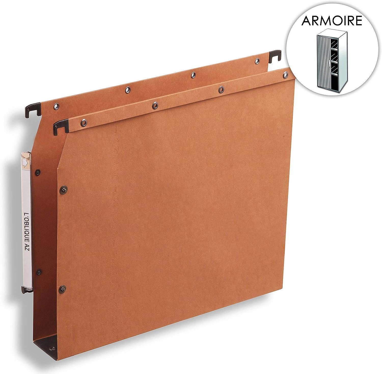 ELBA ELBA ELBA 100330476 Hängemappe AZV Ultimate 25er Pack DIN A4 Bodenbreite 5 cm aus Kraftkarton Grünikale Kennzeichnung Orange Recycling-Karton Blauer Engel B001UO9F2Y | Der neueste Stil  e911fe