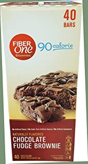 Fiber One Fiber One Fudge Brownies Chocolate Bars 40 x 0.89 Oz Net Wt 35.6 Oz, 35.6 oz