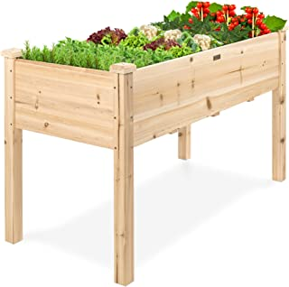 Best Choice Products Raised Vegetable Garden Bed Elevated Planter Kit Grow Gardening Vegetables
