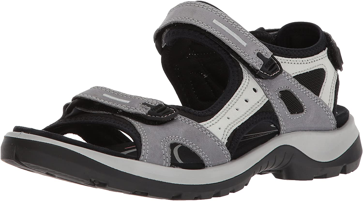 ECCO shoes Women's Offroad Yucatan Athletic Sandals, Titanium, 39 EU  8-8.5 M US