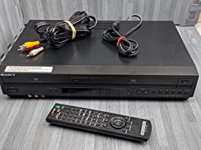 Sony SLV-D380P DVD Player/VCR Video Cassette Tape Recorder Combo, 4-Head HQ Stereo VHS Player w/ Dolby Digital, Compact Disc Digital Video, Progressive Scan, dts-Digital Out.