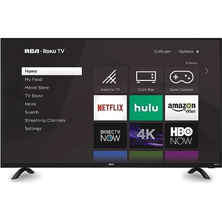 Descripción RCA 50 pulgadas 4K Roku Smart Televisor (RTRU5027-W)