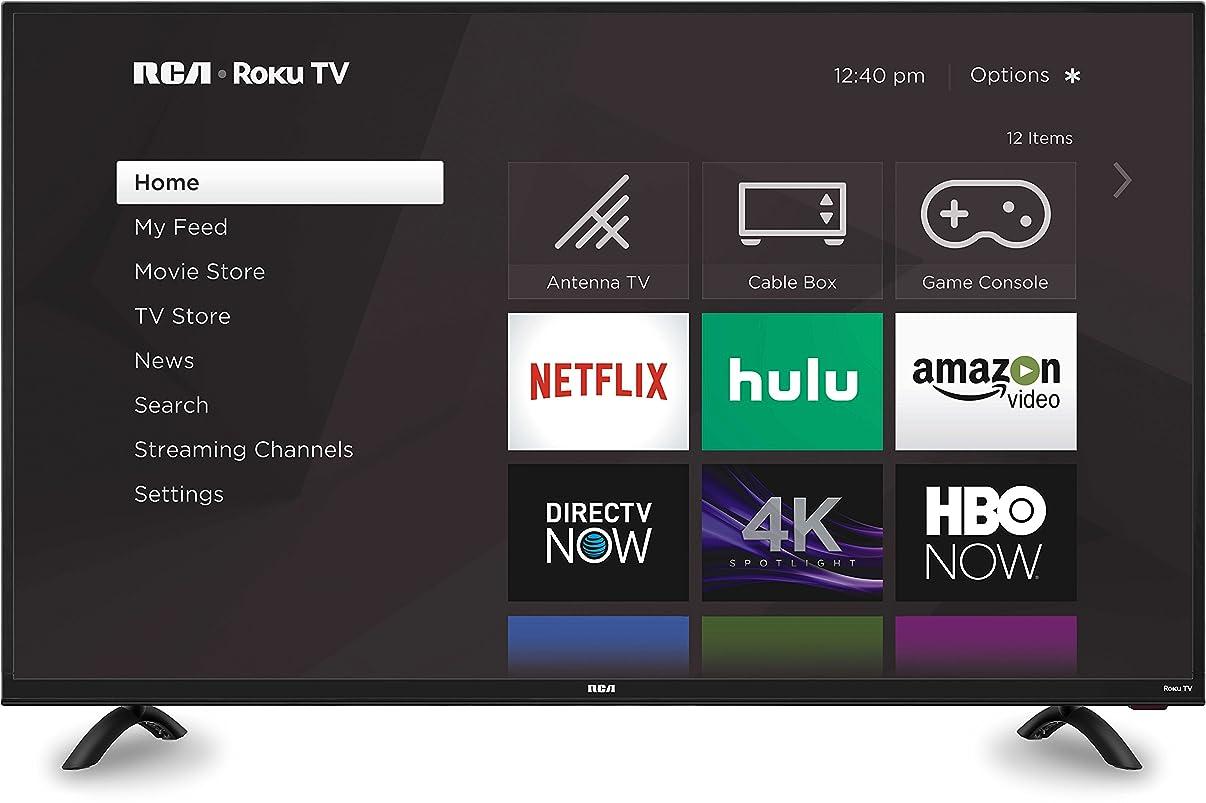 RCA Roku Smart LED HD TV (4K, 50-Inch)