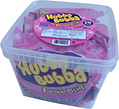 Hubba Bubba Bubble Blast- 216 Ct In Handy Tub (3 Bags of 72 Individually Wrapped Pieces Chewing Gum)