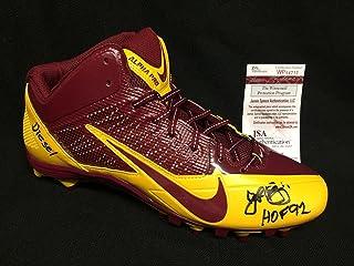 b17b75fd1e99 John Riggins Signed Nike Alpha Pro Football Cleat Redskins