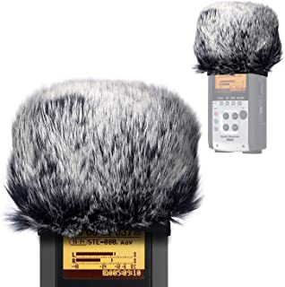 Furry Outdoor Microphone Windscreen Muff for Zoom H4N Pro...