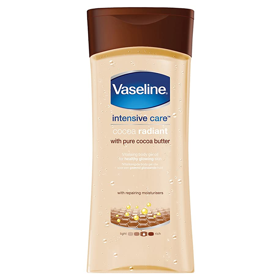 Vaseline Intensive Care Vitalizing Gel Body Oil with Brazillian Nut and Almond Oils 6.8 fl oz - Rich (200 mL)