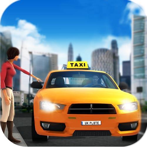 coche deportivo loco simulador de conductor de taxi 2019: juegos de conducción...