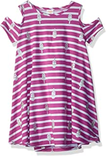 Gymboree Girls' Little Cold Shoulder Knit Dress