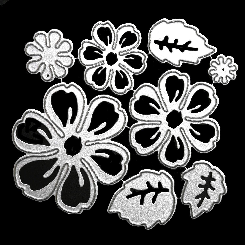 cheap OOTSR Flower Metal Cutting Dies 3D Cuts Stencil for New arrival Die