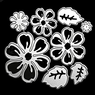 OOTSR Flower Metal Cutting Dies, 3D Flower Die Cuts Stencil for Scrapbooking/Embossing/Photo Album Decor/DIY Craft/Gift