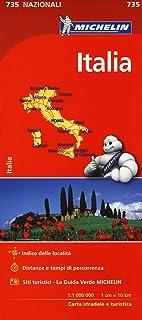 Cartina Michelin Sardegna.Amazon It Cartine Michelin