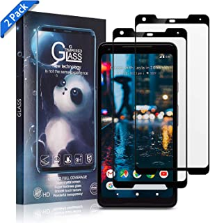 Xawy [2-Pack] for Google Pixel 2XL Screen Protector Tempered Glass,[Anti-Fingerprint][No-Bubble][Scratch-Resistant] Glass Screen Protector for Google Pixel 2XL