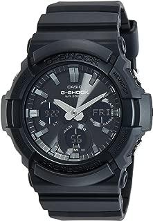 Casio G-Shock Men's Black Dial Resin Band Watch - GAS-100B-1ADR