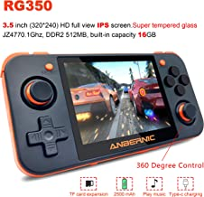 MJKJ Handheld Game Console , RG350 Retro Game Console OpenDingux Tony System , Free with..