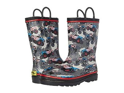 Western Chief Kids Monster Truck Glory Rain Boots (Toddler/Little Kid/Big Kid) Boy